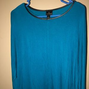 Blue Worthing Tom long sleeve top